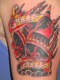 for unique tattoos hells bells