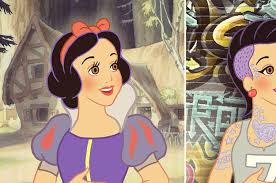 pick hipster snow white