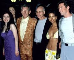 poirot halloween party cast red carpet flashback the first u0027x men u0027 premiere in 2000