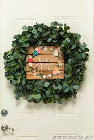 105 best diy wreaths images on pinterest front door wreaths