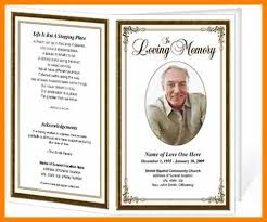 memorial program template 5 funeral programme template free agile resumed