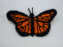 ravelry monarch butterfly pattern by the stitchhikers