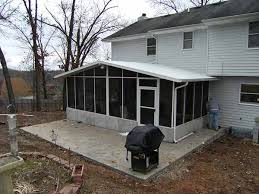 Backyard Screen House by Screen Rooms Screened In Porch Screen Walls Springfield Missouri