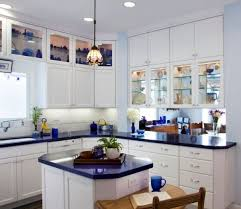 paint ideas for kitchen with blue countertops cooking in blue 10 inspiring kitchens styled in blue