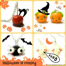 halloween is coming kawaii halloween jewelry by teneredelizie on