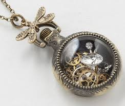 steampunk pendant necklace images Maria sparks steampunk jewelry kaleidoscope effect jpg