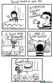 Social Media Meme - social media in a nutshell by koner797 meme center