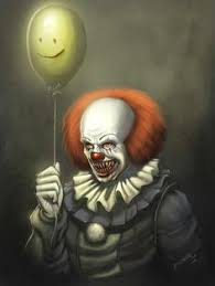 happy birthday creepy clown scary pennywise by insignificantartist pennywise horror