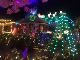 vacaville tree lighting 2017 where to see the best holiday lights in the bay area sfgate