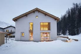 in the majestic shadow of alps cozy home renovation in sils im view in gallery classic exterior of the old barn house is left intact despite the modern interior in the