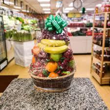 gourmet basket fruit basket gourmet basket a better bloom florist