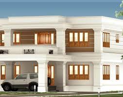 Luxury Home Design Kerala Roof Flat Roof Luxury Home Design Kerala Home Beautiful Roof