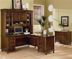 Wood Computer Desk With Hutch by Home Office L Shaped Desk With Hutch Home Office L Shaped Desk