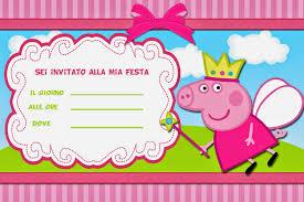 inviti compleanno bambini da stampare gratis