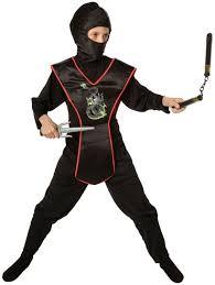 Kids Ninja Halloween Costume Ninja Child Costume Kit Boys Costumes Kids Halloween Costumes