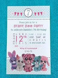 10 josie u0027s beanie boo tea party birthday images
