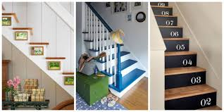 impressive staircase decorating ideas wall ideas to staircase wall