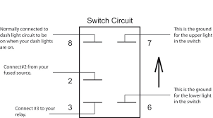 rocker switch wiring diagram 4 pin wiring diagram and schematic