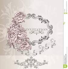 Wedding Invitation Cards Design Elegant Wedding Invitation Card For Design Stock Image Image