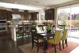 Black Kitchen Island Table Kitchen Astonishing Living Room Dining Kitchen Design Ideas With