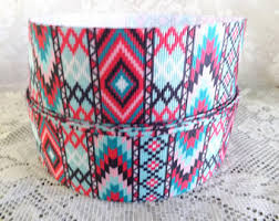 aztec ribbon aztec ribbon etsy