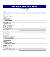 Opening Day Balance Sheet Template Balance Sheet Template Balance Sheet Template For Small Business