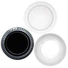 essentials elegance plastic plates 10 25 select color