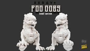 pictures of foo dogs xxray plus foo dogs ivory edition by jason freeny x mighty jaxx