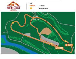 Seattle Marathon Map by Les Schwab Tires Turkey Trot Relay U0026 5k Run Walk Hood To Coast