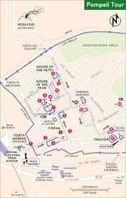 Pompeii Map Naples Sorrento And The Amalfi Coast Best Of Italy Rick Steves