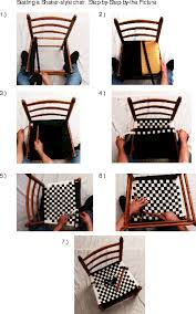 how to weave a shaker style chair seat uses 1