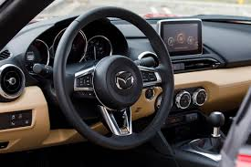 mazda roadster interior 2017 mazda mx 5 rf review