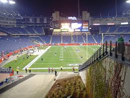 Gillette Stadium Map Gillette Stadium End Zone Michael Femia Flickr