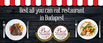Best All You Can Eat by Buda Gourmet Best Of Budapest U0026 Hungary