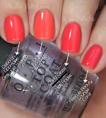 opi brazil collection comparisons peachy polish