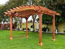 accesories u0026 decors arched pergola roof sheet for porch ideas and