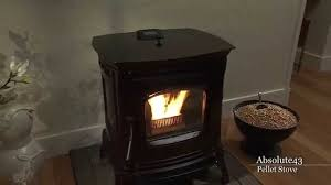 Pellet Stove Inserts Harman Absolute43 Pellet Stove Video Youtube