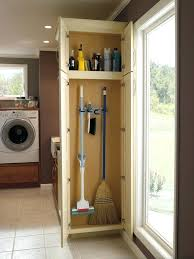 storage cabinets for mops and brooms mop and broom storage broom and mop storage cabinet wood storage