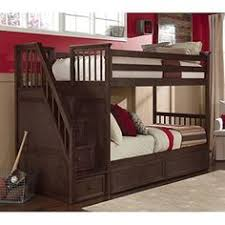 Twin Loft Bed With Stairs Gray Bunk Beds With Stairs Storage Drawers And Under Bed Storage