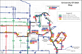 Map Of Utah by Utah Transit Authority