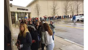 penney black friday 2016 sales in stores opened to lines