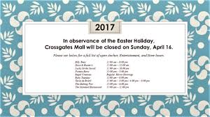 mall hours on thanksgiving easter sunday mall closed crossgates mall