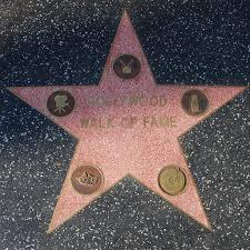 Hollywood Walk Of Fame Map The Walk Of Fame U0027s Walk Of Fame Star Los Angeles Historic U2026 Flickr
