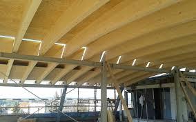glue laminated beam rectangular arched for floors