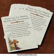 my communion thank you for my holy communion holyfamilyonline