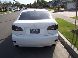 white lexus 2009 2008 starfire pearl white is250 smoked out taillights lexus is forum
