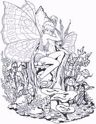 fairy coloring pages ages coloring pages