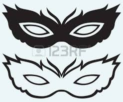 masks for masquerade mask for masquerade costumes isolated on background royalty free