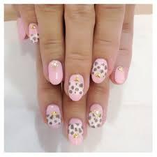 cheetah print nail art tutorial youtube nail art easy and girly