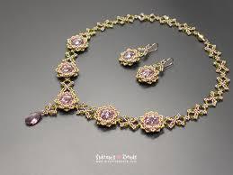earrings s jardin de fleurs necklace earrings tutorial sidonia s